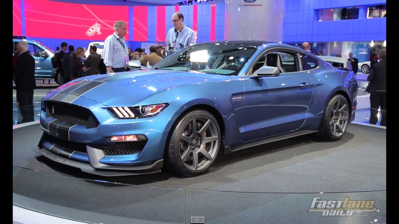 2016 ford mustang shelby gt350r 2015 detroit auto show fast lane daily youtube