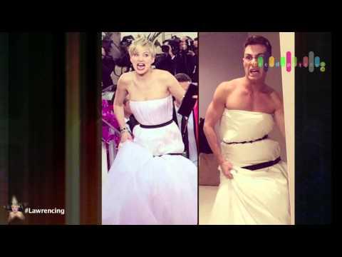 Jennifer Lawrence's red carpet look goes viral
