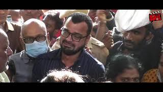 Chithra-வின் இறுதி நிமிடங்கள்.. Celebrities Pays Last Respect | Pandian Stores | VJ Chitra Funeral