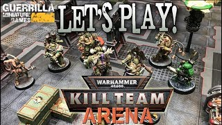 Let's Play! - NEW Warhammer 40,000: Kill Team ARENA