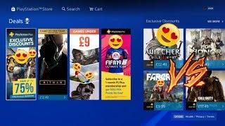 PlayStation Store Sales LIVE Now GAME UNDER 9 - PS PLUS Discounts eu