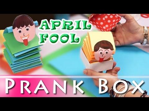 How To Make Prank Box – April Fool Prank – April Fool Special