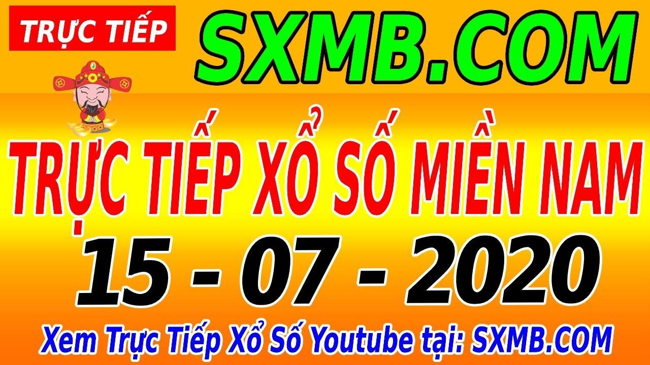 XSMN TRỰC TIẾP XỔ SỐ MIỀN NAM HÔM NAY THỨ 4 NGÀY 15/07/2020, KQXS MIEN NAM