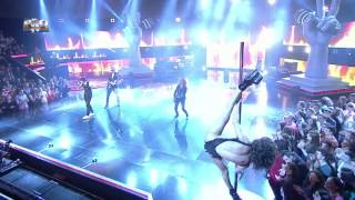 Tiberiu Albu - Shook me all night long (AC/DC) - Vocea Romaniei 2014 - Semifinala - Editia 14