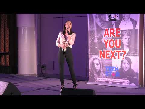 WHEN I WAS YOUR MAN – BRUNO MARS performed by MIA at Open Mic UK music competition