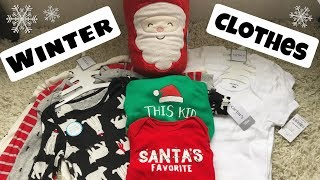 Winter Baby Clothes Haul