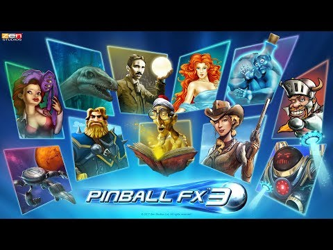 Pinball FX3 Zen Pinball PS4 Gameplay (many tables) with commentary
