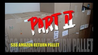 $2,100 MSRP Amazon Customer Returns Pallet - Amazon Mystery Boxes Part 2