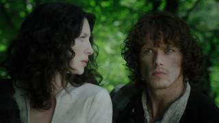 one of the funniest commercials outlander cizinka sam heughan caitriona balfe