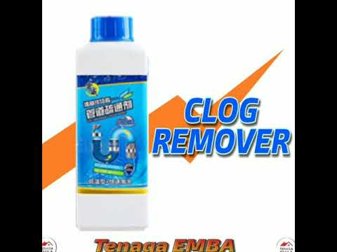 Clog Remover Drain Pipe Basin Cleaner Toilet Bowl Clogged Drainage Remover Powder 1000g.