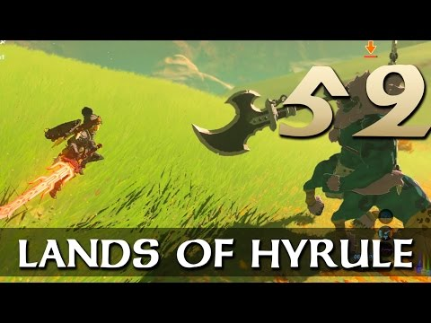 [52] Lands of Hyrule (Let's Play The Legend of Zelda: Breath of the Wild [Nintendo Switch] w/ GaLm)
