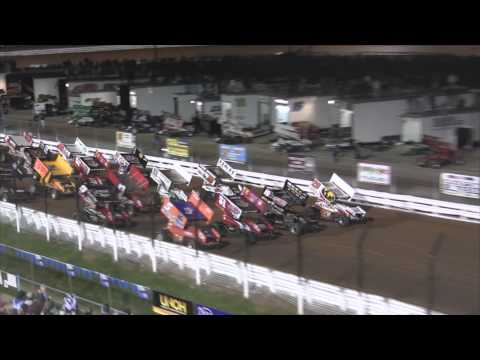 Williams Grove Speedway World of Outlaws Highlights 9-28-12