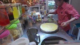Banh crepe Thai- man