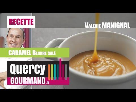 Recette – Caramel beurre salé – quercygourmand.tv