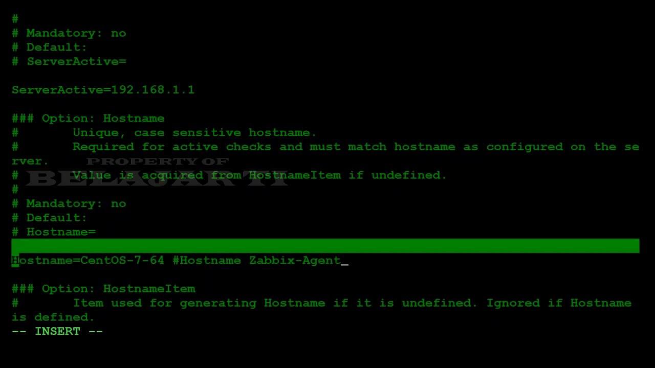 BELAJAR TI || ZABBIX 4.0 LTS : Install Zabbix Agent on CentOS 7