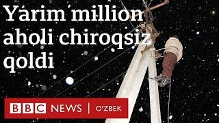 Ўзбекистон: Совуқ туфайли ярим миллион аҳоли чироқсиз қолди - yangiliklar  BBC News O'zbek