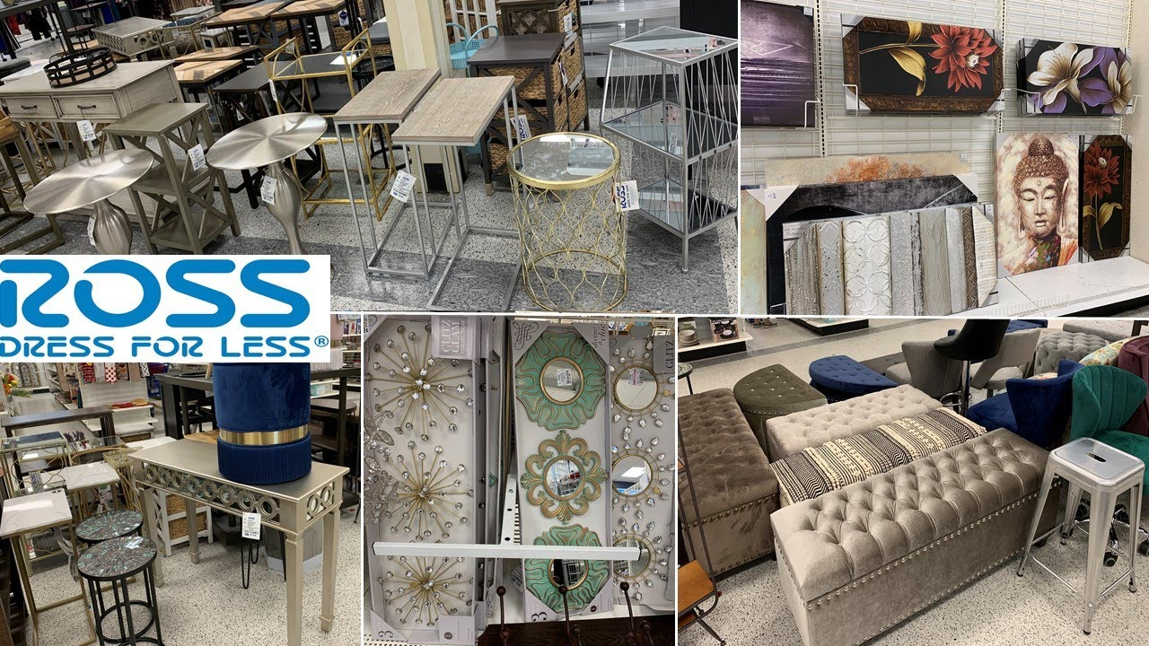 ROSS Furniture * Home Decor Wall Decor  Shop With Me September 11