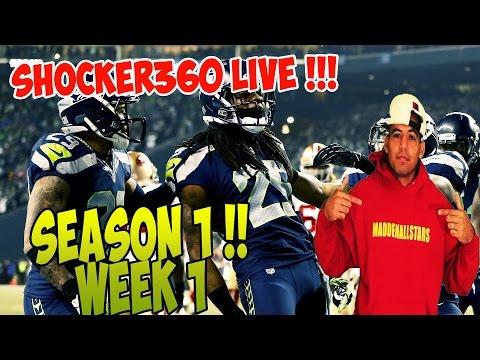 Madden 15 | Carolina Panthers Lock Down Defense Exposed Season 1 game 1 | Madden 15 Gameplay