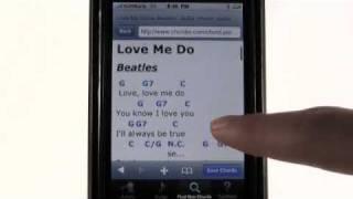 iPhone apps - MySongbook - Lyrics & Chords