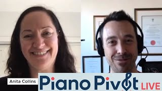 Dr Anita Collins, Neuroscience and Music Education is coming to Piano Pivot Live!