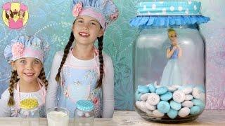 CINDERELLA BROWNIE JAR TREATS -inspired By The Disney Movie - Kids Baking