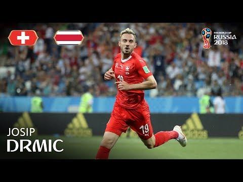 Josip DRMIC Goal - Switzerland v Costa Rica - MATCH 42