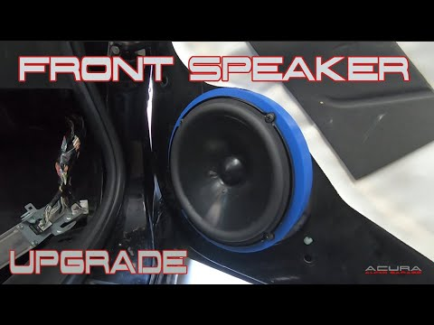 2004 05 06 07 2008 Acura TL Front Speaker Upgrade Install – DIY How To