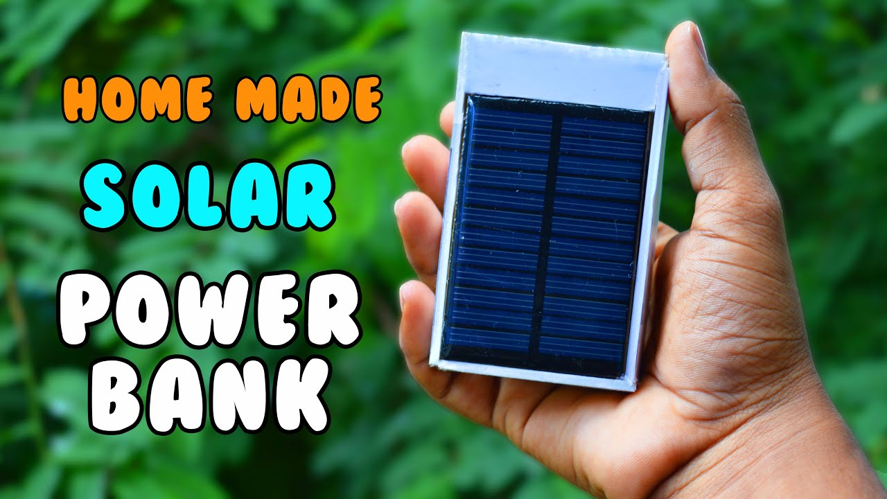 homemade solar power bank how to make a rechargeable. Black Bedroom Furniture Sets. Home Design Ideas