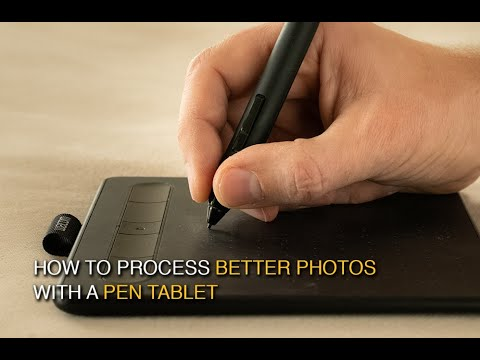 How To Use A Pen Tablet For Better Photos In Photoshop