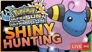 LIVE SOS SHINY MAREEP HUNTING! Pokemon Ultra Sun and Ultra Moon Live Shiny Hunting