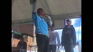 A PRIMERA VISTA - DANIEL AKA MB EL DISTANTE MC  FT CONTRASTE (HIP HOP COLOMBIANO ) 2012