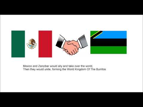 What If Mexico Won The Mexican American War?  (AlternateHistorypt Parody)