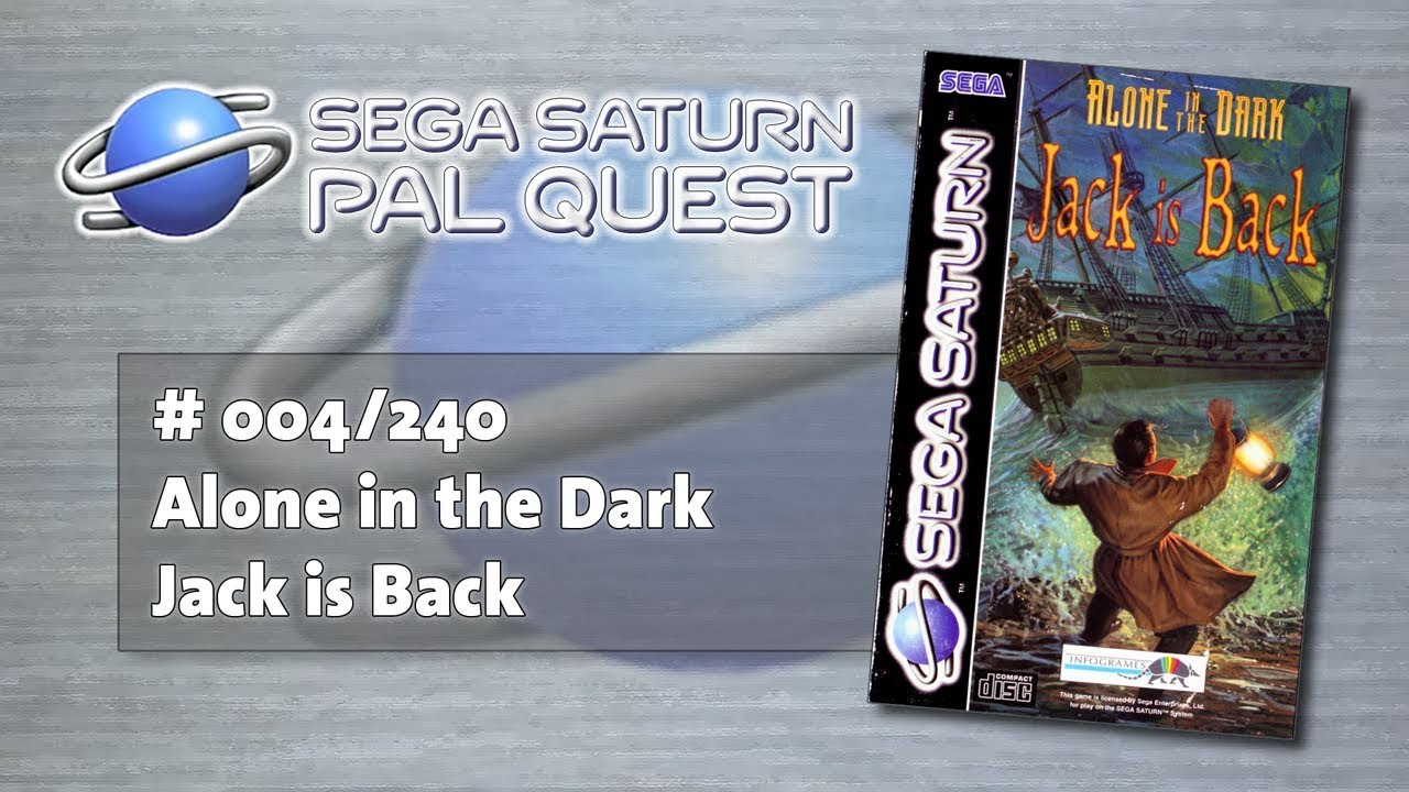 The Pal Quest Alone In The Dark Jack Is Back Sega Saturn 004
