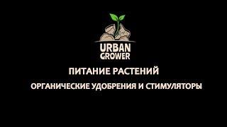 УРБАН ГРОВЕР УРОК 20 - ПИТАНИЕ РАСТЕНИЙ - ОРГАНИЧЕСКИЕ УДОБРЕНИЯ И СТИМУЛЯТОРЫ