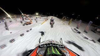 GoPro: Kody Kamm's 2nd Place Finish –  2014 Amsoil Championship Snocross Salamanca, New York