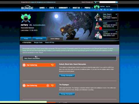 How To Link Your Gamertag In Halo Reach With Bungie.net