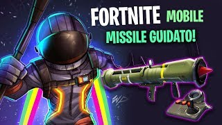 MOBILE FORTNITE! 🔴 NEW GUIDED MISSILE! 4 REAL WINS IN A ROW!