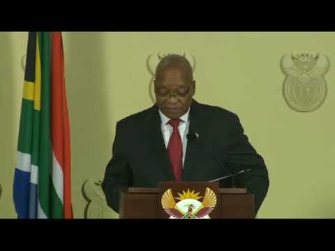 (Watch: Full Speech) Jacob Zuma resigns as president of South Africa