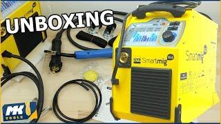 ✔ GYS Schutzschweißgerät 160A - Smartmig 162 - Unboxing [HD]
