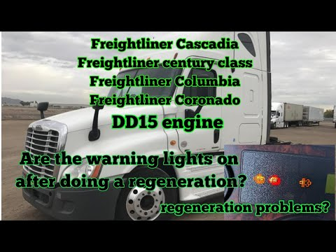 Freightliner Cascadia DD15 Engine Regeneration Problem Fuel Dozer Injector Cleaning Injector 7