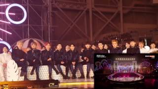 Download Video 161119 EXO reaction to TWICE Cheer Up/TT @ MMA 2016 MP3 3GP MP4