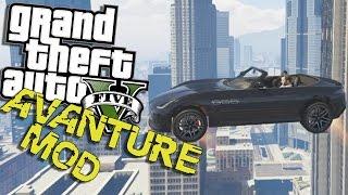 GTA 5 Mod: Pc Avanture #14 - Smesni Momenti - Letece Auto ? thumbnail