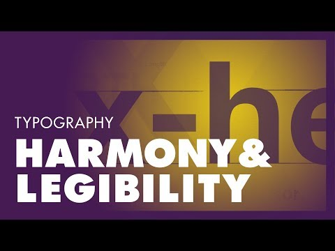 Typography –Rules for graphic design