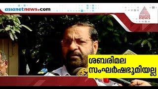 Activists shouldn't use shrine to prove a point, says minister Kadakampally Surendran