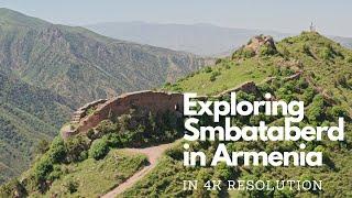 Smbataberd fortress in Vayots dzor region of Armenia | 4K resolution