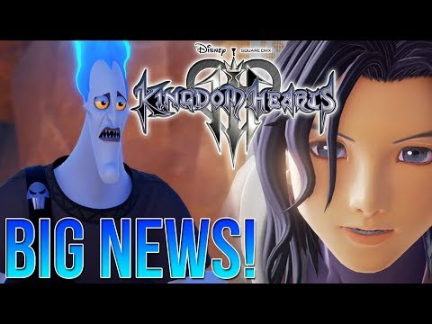Kingdom Hearts 3 - BIG VOICE ACTING NEWS! Drake Bell and James Woods Confirms Work!