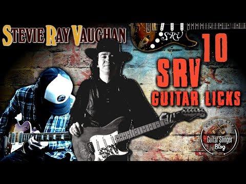 Stevie Ray Vaughan Guitar Licks | My Top 10 Favourite SRV Licks!