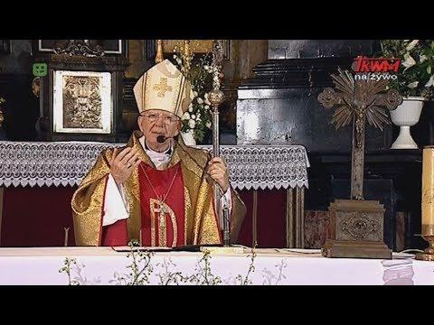 Homilia abp. Jędraszewskiego wygłoszona podczas spotkania RRM w par. Wszystkich Świętych w Krakowie