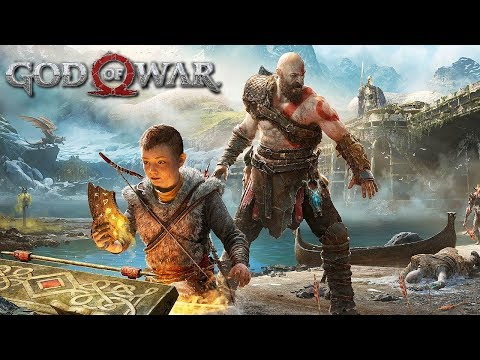 [4K] GOD OF WAR (PS4) - Father and Son Trailer @ 2160p UHD ✔