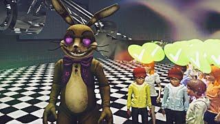 Soy GLITCHTRAP y los ENCIERRO en la SCOOPING ROOM | Five Nights at Freddy's: Killer in Purple (FNAF)